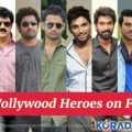 Top 10 Tollywood Heroes on Facebook – number one hero in tollywood