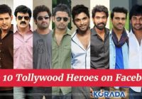 Top 10 Tollywood Heroes on Facebook – tollywood heroes ranking