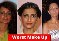 Top 11 Worst Bollywood Actresses Makeup Fails – Shocking ..