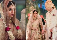 Top 5 Real Life Bollywood Wedding Outfits – Fullonwedding – bollywood wedding flowers