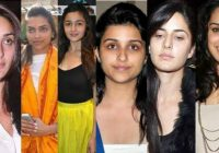 Top Actresses Without Makeup You Cannot Recognize – old bollywood makeup