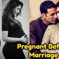 Top Bollywood Actresses who got Pregnant Before Marriage ..