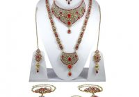 Traditional Indian Bridal Necklace Set Bollywood Wedding ..