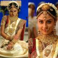 traditional south indian wedding sarees | Wedding Styles – hindu wedding bride