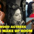Unseen Photos Of Bollywood Actress Inside Makeup Room ..
