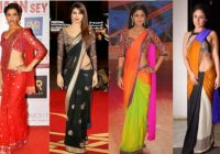 Unusual Saree Draping Styles | Indian Fashion Blog – bollywood mumtaz style saree draping