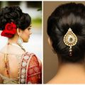 Various Indian Hairstyle of Medium Length for Weddings ..
