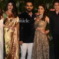 Virat, Anushka's wedding reception: Bollywood stars up the ..