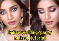 Wearable bollywood inspired Indian party makeup tutorial ..