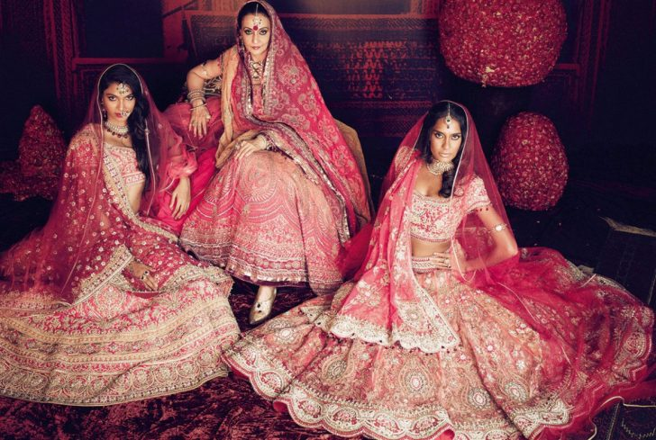 Permalink to Indian Bridal Outfits 2017
