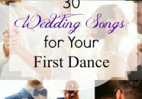 Wedding Songs: 30 Awesome First Dance Tracks For The Bride ..