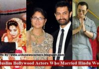 Which Muslim Bollywood Actors Married Hindu Women – The ..