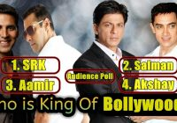 Who Is The King Of Bollywood? Audience Poll – YouTube – king of tollywood