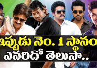 Who Is Tollywood No.1 Hero ? | Mahesh, Allu Arjun, Prabhas ..