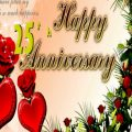 Wishes On 25th Wedding Anniversary In Hindi – Unique ..