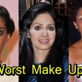 Worst Bollywood Celebrities Make Up Fails | Shocking – YouTube – worst looking bollywood actress without makeup